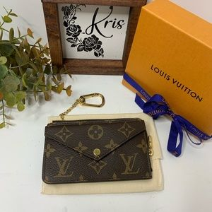 Louis Vuitton Card Holder Recto Verso